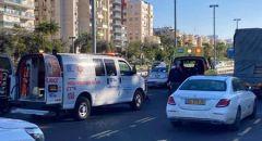 يافا: اصابة خطيرة لشابة تعرضت لحادث دهس