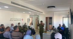 بلديّة القدس بالتعاون مع قيادة الجبهة الداخلية تقيمان مؤتمرًا في شرق المدينة للتشجيع على أخذ التطعيم