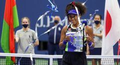 اليابانية أوساكا تتوج بلقب بطولة أمريكا المفتوحة للتنس