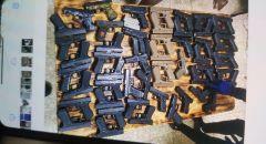 الشرطة تلقي القبض على عشرات المشتبهين بتجارة الاسلحة في منطقة المثلث