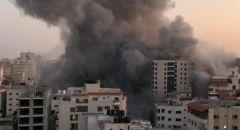مقتل 8 فلسطينيين من بينهم أطفال بقصف إسرائيلي استهدف منزلا بمخيم الشاطئ في غرب غزة