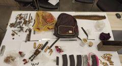 طمرة: اعتقال شاب بعد ضبط اسلحة وذخيرة