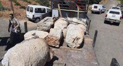 الادارة المدنية الاسرائيلية تنفي سرقة اثار من بيت أُمر