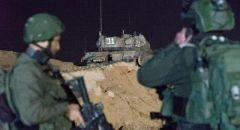 انفجار قذيفة صاروخية اطلقت من غزة نحو  الجنوب