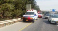 إصابتان في حادث طرق بين مركبتين على شارع 25 في النقب