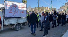 تظاهرة في اللد ضد هدم المنازل وجرائم القتل