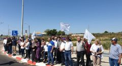 جديدة المكر: استمرار الاحتجاجات ضد مخطط شارع 6 بمصادرة الأراضي واعتقالات