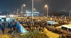 طمرة: حالة استنفار واغلاق شارع ٧٠ وإنتظار جثمان الشاب احمد حجازي