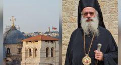 المطران عطا الله حنا : نحن مسيحيون 100% وفلسطينيون100% ونرفض ما تقوم به جهات مشبوهة للنيل من انتماء المسيحيين واصالة حضورهم