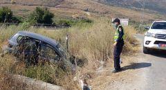 اصابة خطيرة لفتى 14 عاماََ في حادث طرق بالقرب من كرمئيل