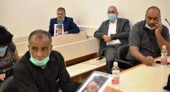 عائلة الدوابشة تدلي بشهادتها في المحكمة المركزية في اللد