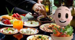 عادات الأكل في رمضان | طاقم وحدة التغذية والحمية الغذائية – كلاليت لواء حيفا والجليل الغربي