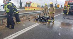 مصرع شاب(25 عامًا) بحادث دراجة نارية قرب ريشون لتسيون