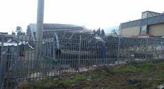 إنهيار مبنى في مدرسة كدوري واصابة ٨ عمال