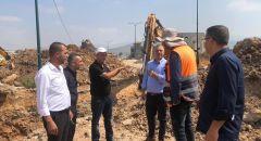 """الدكتور صفوت ابو ريا رئيس بلدية سخنين: """"مشروع تصريف المياه في سخنين، بين السابق واللاحق"""""""