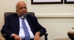 الاعلان عن وفاة الدكتور صائب عريقات أمين سر اللجنة اللجنة التنفيذية لمنظمة التحرير الفلسطينية متأثرًا بإصابته بالكورونا
