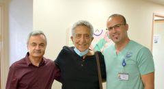 عملية جراحية أجراها د. كمال حمود لمريض في المركز الطبيّ باده – بوريا  جعله يعود ليقف على قدميه!