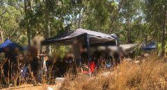 بدون كمامات: الشرطة تداهم حفل اقيم في الطبيعة في غابة بن شيمين
