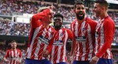 أتلتيكو مدريد يكشف عن إسمي لاعبيه المصابين بفيروس كورونا