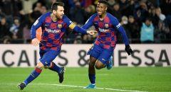 """برشلونة يكتسح ألافيس بخماسية ويستعيد وصافة """"الليغا"""" من غريمه ريال مدريد"""