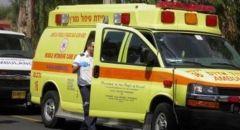 إصابة شاب (20 عامًا) بحادث طرق في بئر السبع