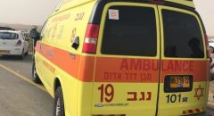 ام القطف: إصابتان خطيرتان بحادث دراجة نارية