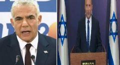 استطلاع: 46 بالمئة من الإسرائيليين يفضلون حكومة بينيت-لابيد على إجراء انتخابات خامسة