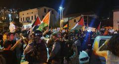 """15 معتقلا حتى الآن,,""""حراك حيفا"""" يتضامن مع القدس"""