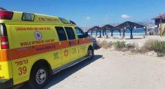 مصرع رجل بعد تعرّضه للغرق قرب شاطئ يميت في الكريوت