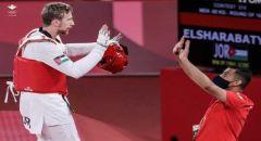 لاعب التايكواندو بالمنتخب الاردني صالح الشرباتي يتأهل للدور نصف النهائي يضمن ميدالية لبلاده في الأولمبياد