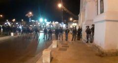 يافا : احتجاجات على تجريف مقبرة الإسعاف ومواجهات مع الشرطة واعتقالات
