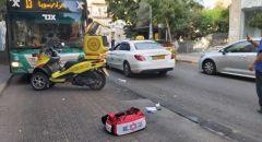 حيفا: اصابة سيدة بجراح اثر تعرّضها للدهس من قبل حافلة