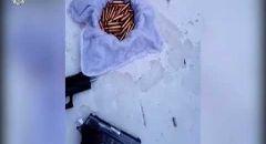 الناصرة : اعتقال 4 مشتبهين بعد ضبط حقيبة على سطح منزل بداخلها سلاح وذخيرة