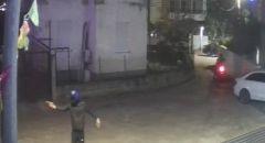 الشرطة : اعتقال مشتبهين من الشيخ دنون والجديدة المكر  اطلاقرصاص واضرام النيران في مركبات