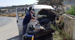 مجدل شمس : اربع اصابات بينهما خطيرة في حادث طرق