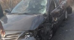 سخنين: إصابتان في حادث طرق احداها خطيرة