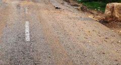 معالجة عشرات التوجهات بسبب الامطار الغزيرة من قبل بلدية ام الفحم