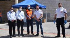 محمد شلبي: تم اجراء 230 فحص كورونا في نقطة اكسال