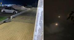 التصدي لصواريخ في منطقة تل ابيب والمركز بعد اطلاقها من قطاع غزة