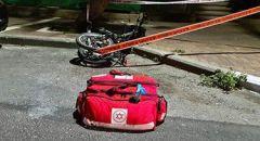 مدينة طبريا : حادث طرق بين دراجة نارية ودراجة هوائية