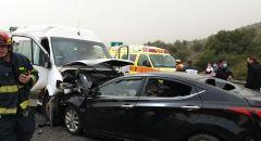مصرع سيدة واصابة اخرين جرّاء حادث طرق وقع قرب مفرق الرامة