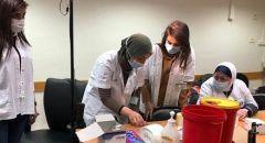 بعد 3 أشهر من انطلاق حملة تطعيمات كورونا في البلاد انخفاض حاد في عدد الاصابات الخطيرة