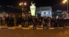 اعتقال ثلاثة شبان من ام الفحم بعد التظاهرة ضد العنف والقتل في المجتمع العربي