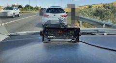 اعتقال سائق قاد سيارته بسرعة 182 كلم/ الساعة في منطقة يهودا والسامرة.