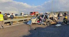 99 قتيلا عربيا بحوادث الطرق في  البلاد عام 2020