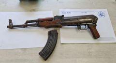 ديرالاسد: ضبط بندقية كلاشينكوف