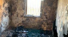 اندلاع حريق داخل شقة سكنية في كريات حاييم