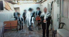موديعين عيليت : ضبط 20 شخصا يصلّون داخل كنيس