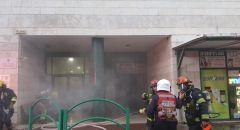 الخضيرة: اندلاع حريق داخل بيت للمسنين والعمل على اخلاء 230 مسنًا