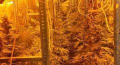 ضبط مختبر لترويج المخدرات في جت المثلث واعتقال مشتبه